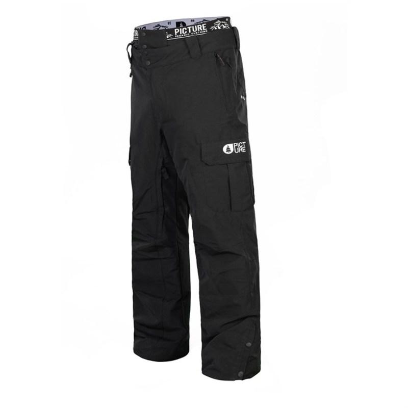 ピクチャー オーガニック メンズ カジュアルパンツ ボトムス Picture Organic Panel Pants Black