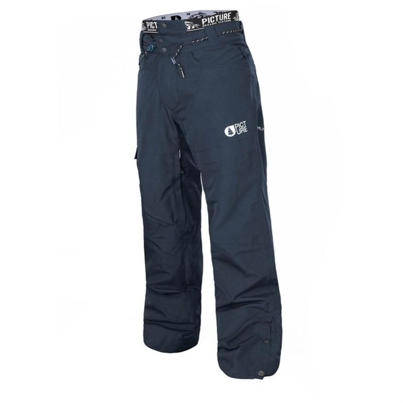 ピクチャー オーガニック メンズ カジュアルパンツ ボトムス Picture Organic Under Pants Dark Blue