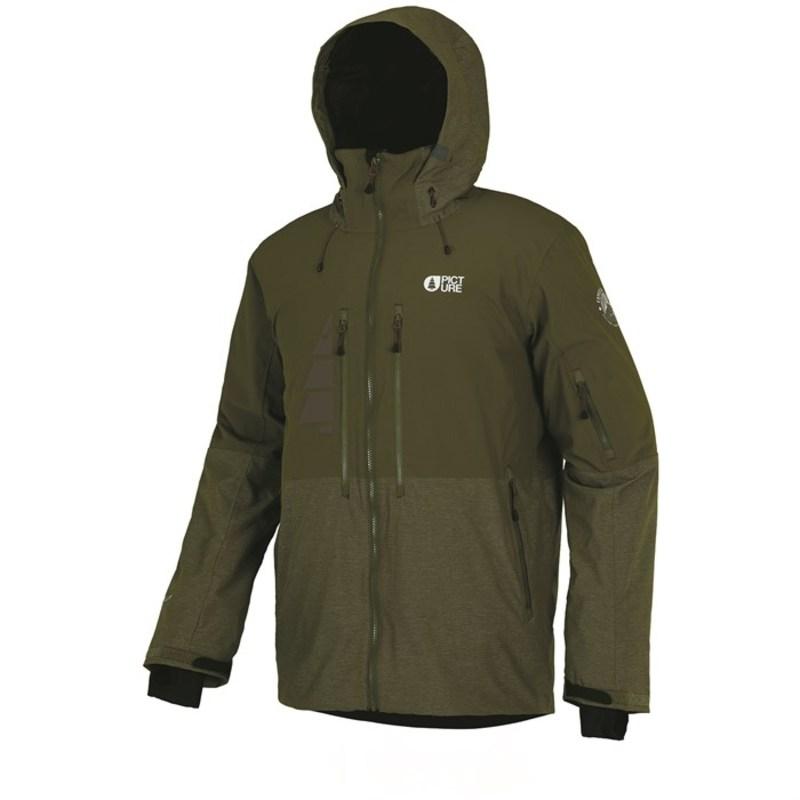 ピクチャー オーガニック メンズ ジャケット・ブルゾン アウター Picture Organic Goods Jacket Kaki