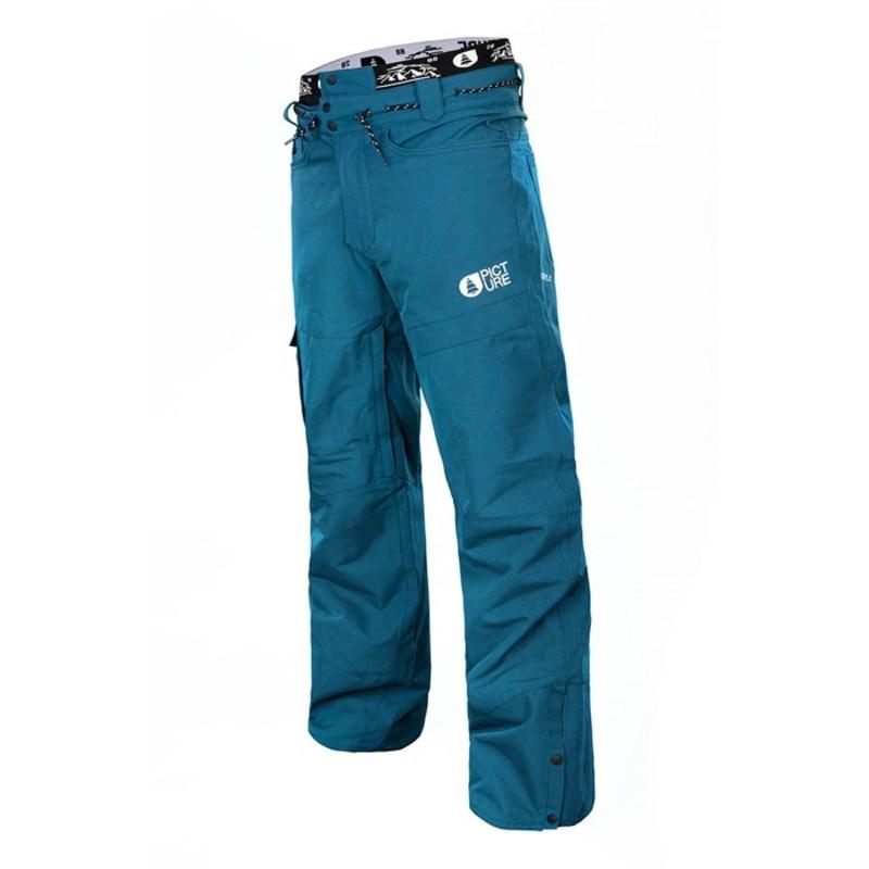ピクチャー オーガニック メンズ カジュアルパンツ ボトムス Picture Organic Under Pants Petrol Blue