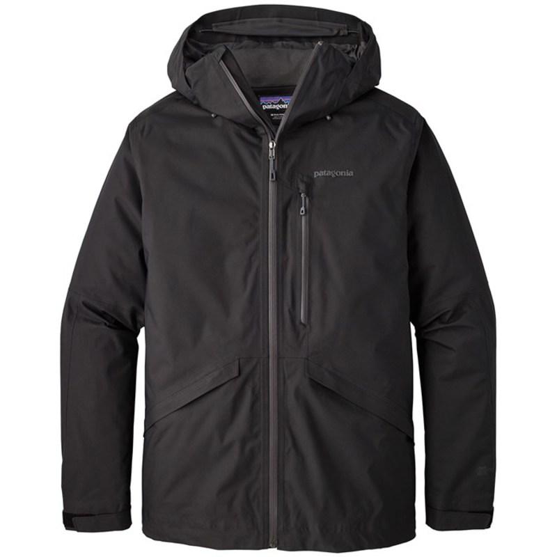 パタゴニア メンズ ジャケット・ブルゾン アウター Patagonia Insulated Snowshot Jacket Black