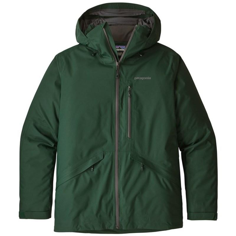 パタゴニア メンズ ジャケット・ブルゾン アウター Patagonia Insulated Snowshot Jacket Micro Green