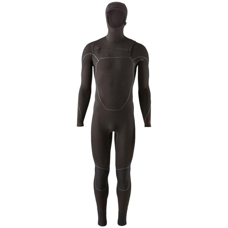 パタゴニア メンズ 上下セット 水着 Patagonia R4 Yulex Front Zip Hooded Wetsuit Black