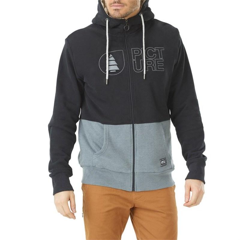 ピクチャー オーガニック メンズ パーカー・スウェット アウター Picture Organic Basement Plush Sweatshirt Black