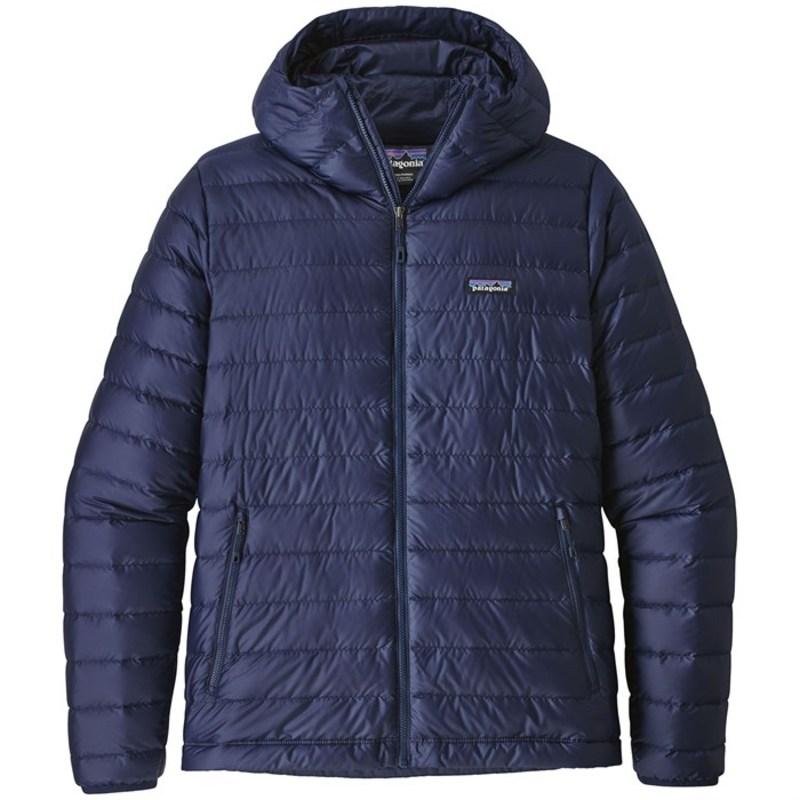 パタゴニア メンズ ジャケット・ブルゾン アウター Patagonia Down Sweater Hoodie Classic Navy