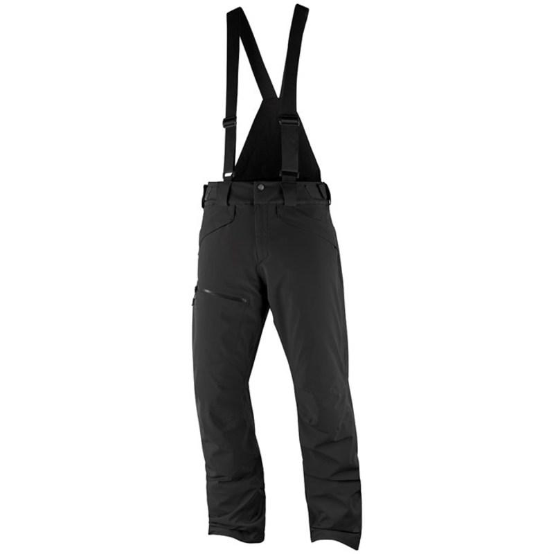 サロモン メンズ カジュアルパンツ ボトムス Salomon Chill Out Bib Pants Black