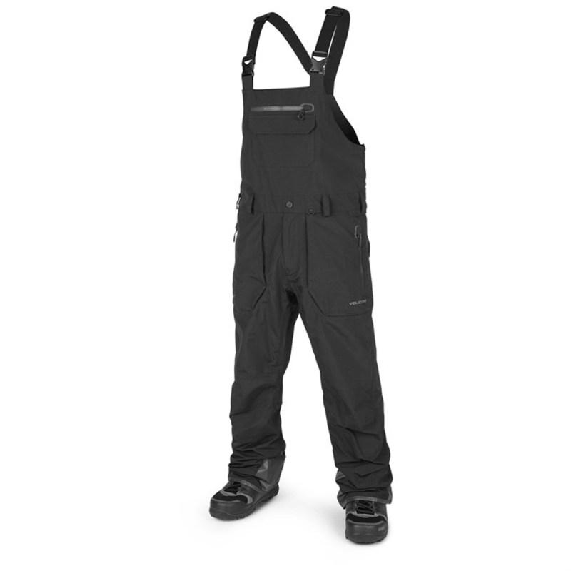 ボルコム メンズ カジュアルパンツ ボトムス Volcom Rain GORE-TEX Bib Overalls Black