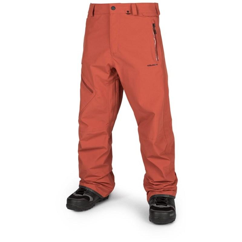 ボルコム メンズ カジュアルパンツ ボトムス Volcom L GORE-TEX Pants Burnt Orange