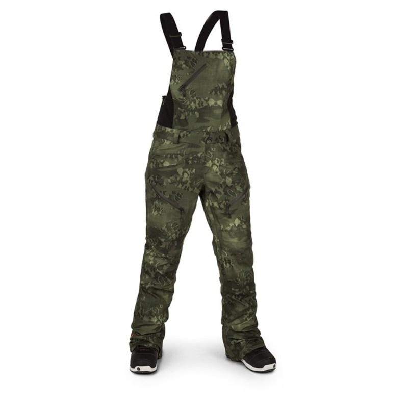ボルコム レディース カジュアルパンツ ボトムス Volcom Elm GORE-TEX Bib Overalls - Women's Camouflage