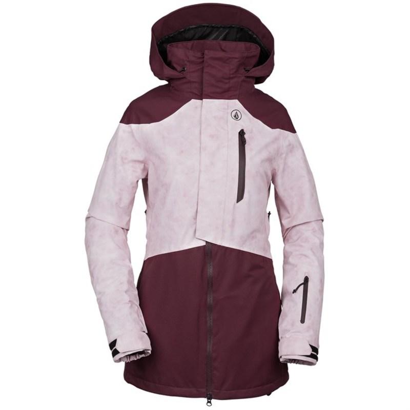 ボルコム レディース ジャケット・ブルゾン アウター Volcom Pine 2L TDS? Jacket - Women's Merlot