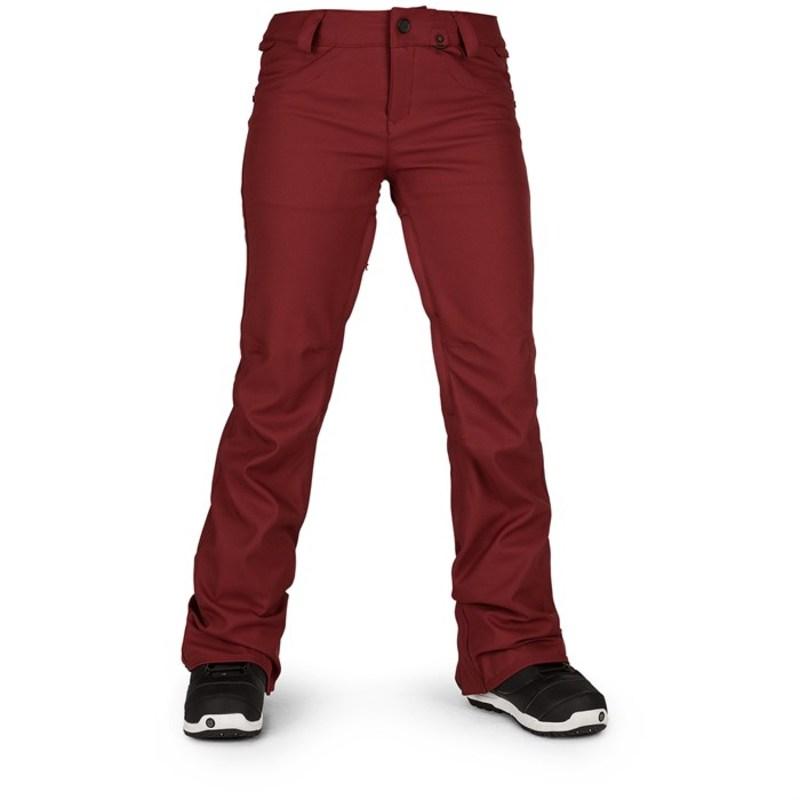 ボルコム レディース カジュアルパンツ ボトムス Volcom Species Stretch Pants - Women's Burnt Red
