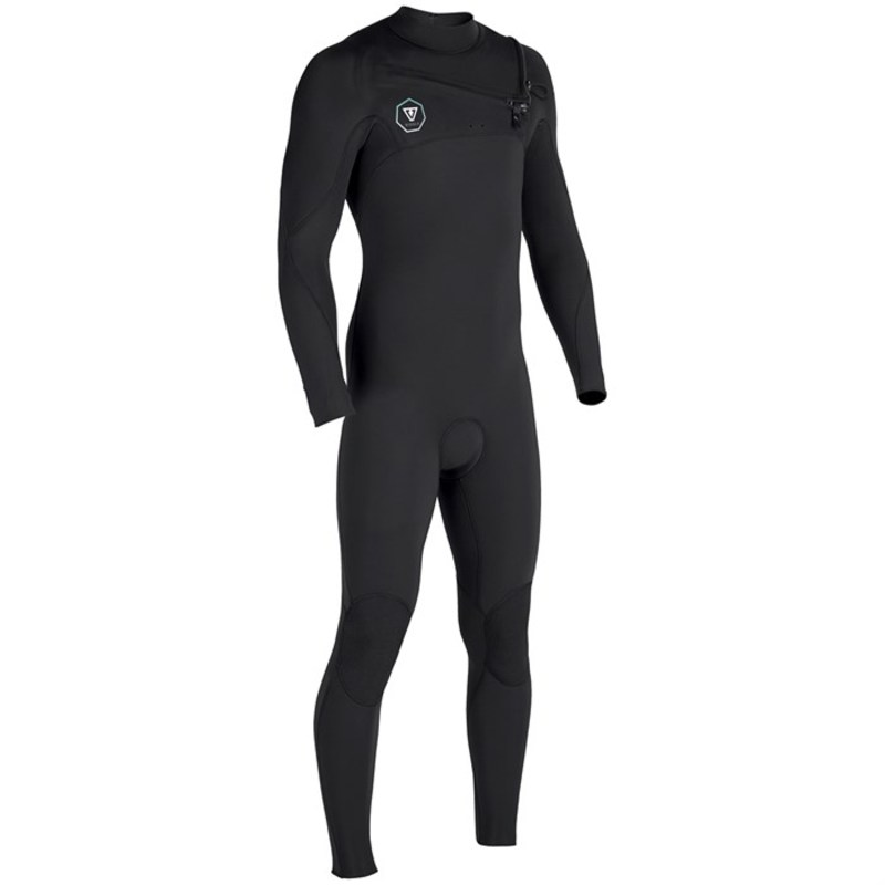 ヴィスラ メンズ 上下セット 水着 Vissla 7 Seas 3/2 Chest Zip Wetsuit Black with Jade