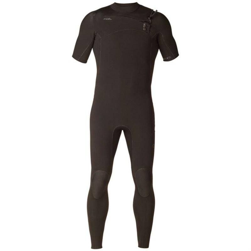エクセル メンズ 上下セット 水着 XCEL Comp X 2mm Short Sleeve Wetsuit Black