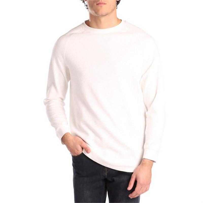 バンクス メンズ Tシャツ トップス Banks Preston Fleece T-Shirt Off White