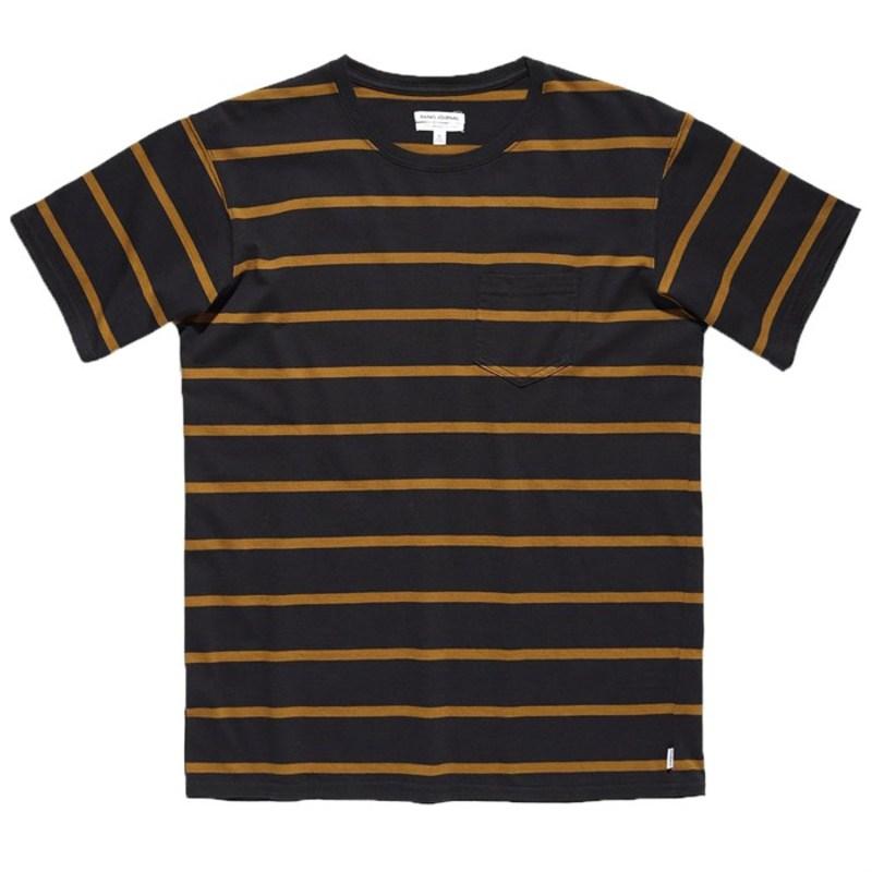 バンクス メンズ Tシャツ トップス Banks Retrospect T-Shirt Dirty Black