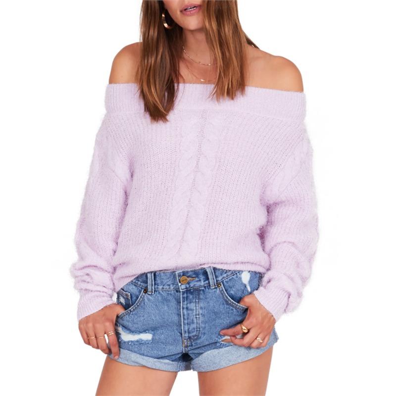 アミューズソサエティ レディース ニット・セーター アウター Amuse Society Miraflores Sweater - Women's Lilac