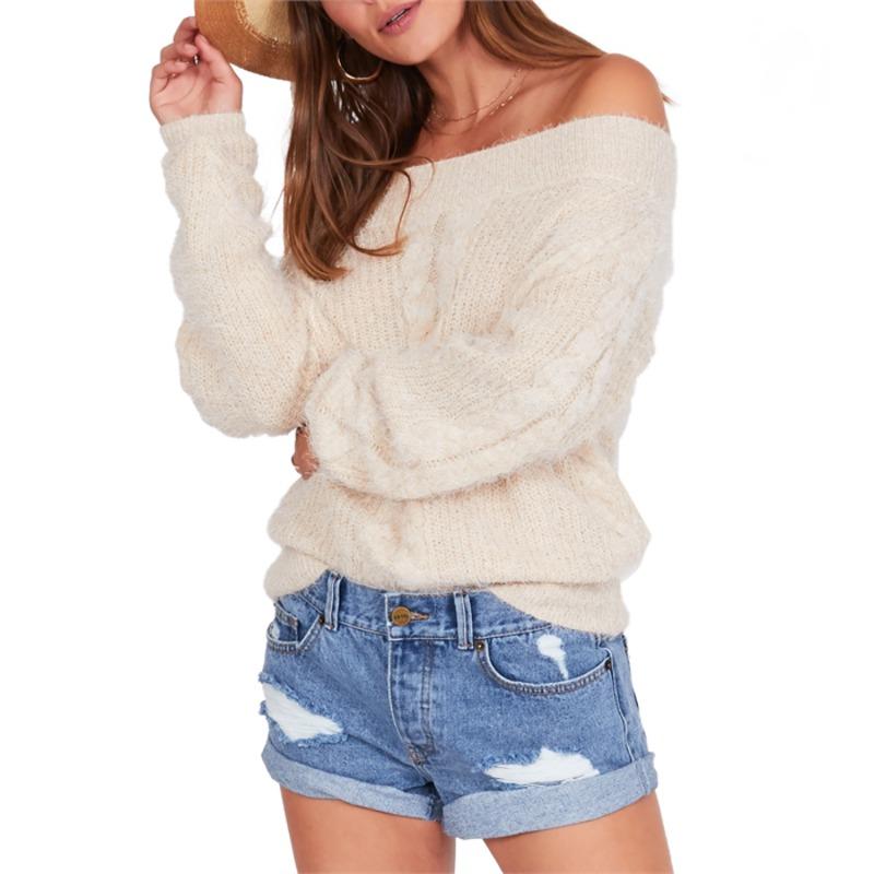 アミューズソサエティ レディース ニット・セーター アウター Amuse Society Miraflores Sweater - Women's Oatmeal