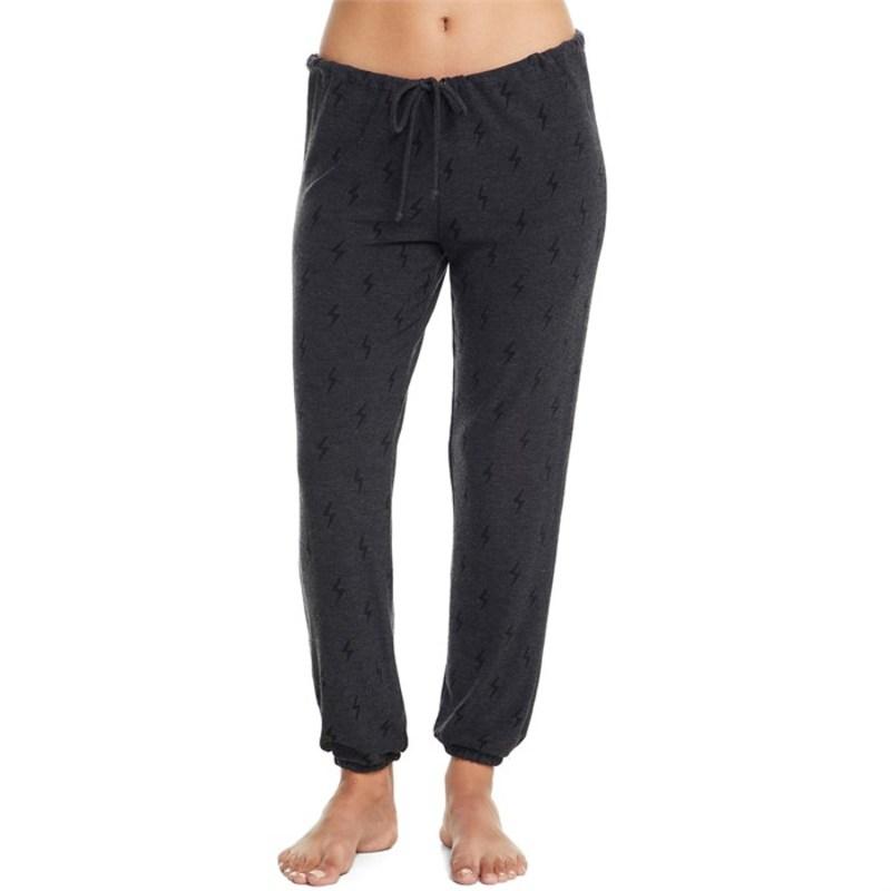 Chaser Knit Bolts チェイサー - カジュアルパンツ レディース Women's Cozy Pants ボトムス Black