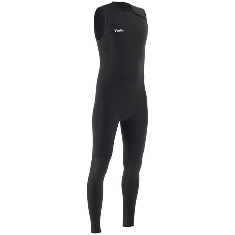 ヴィスラ メンズ 上下セット 水着 Vissla 7 Seas 2/2 Long John Wetsuit Black 2
