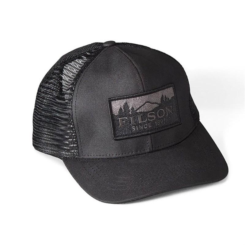 フィルソン メンズ 帽子 アクセサリー Filson Logger Mesh Cap Black