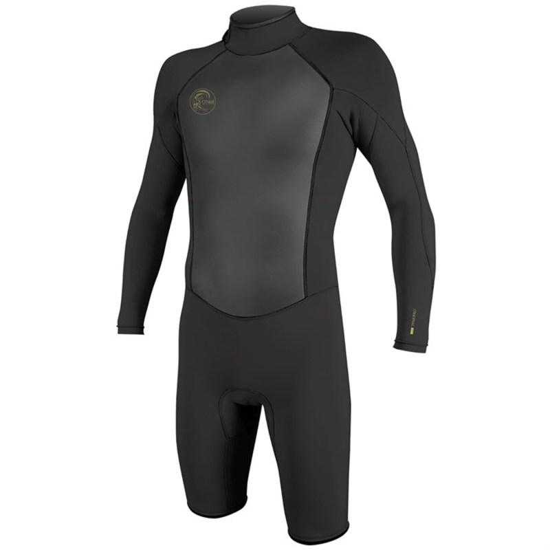 オニール メンズ 上下セット 水着 O'Neill O'riginal 2mm Back Zip Long Sleeve Spring Suit Black