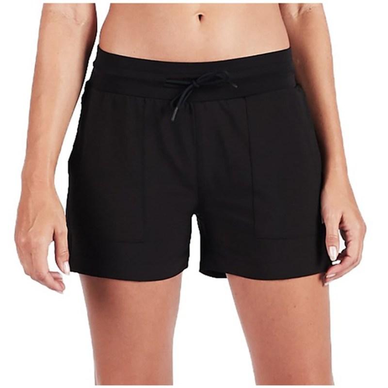 ビュオーリ レディース ハーフパンツ・ショーツ ボトムス Vuori Summits Woven Shorts - Women's Black