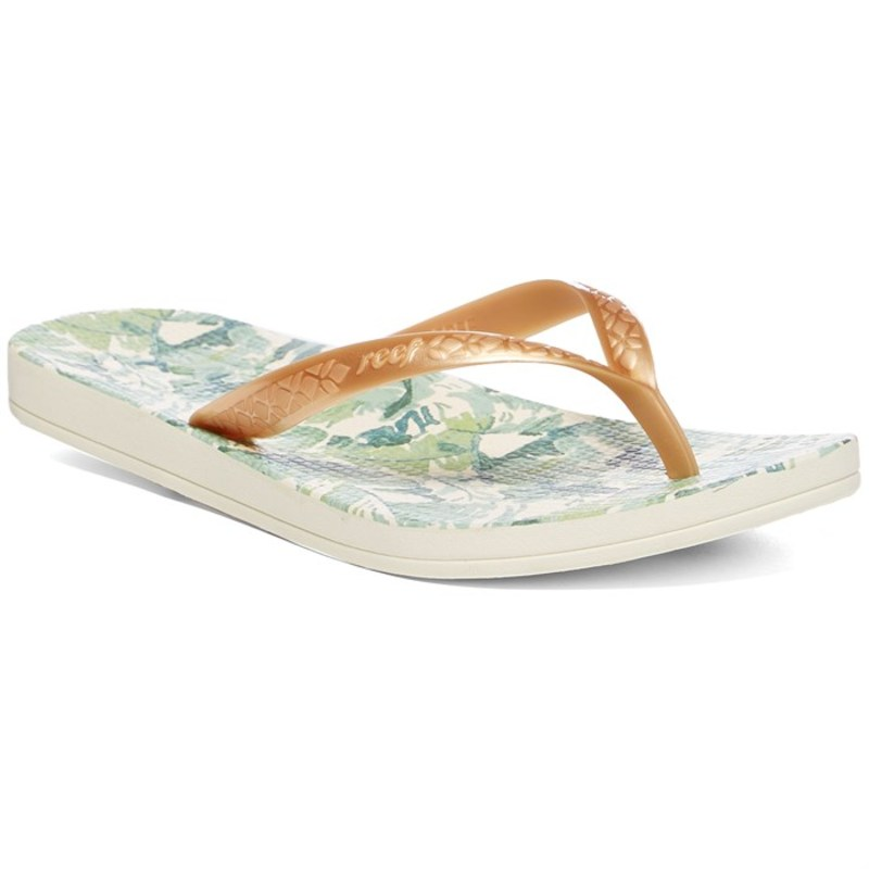 リーフ レディース サンダル シューズ Reef Escape Lux + Prints Sandals - Women's Gold Palms
