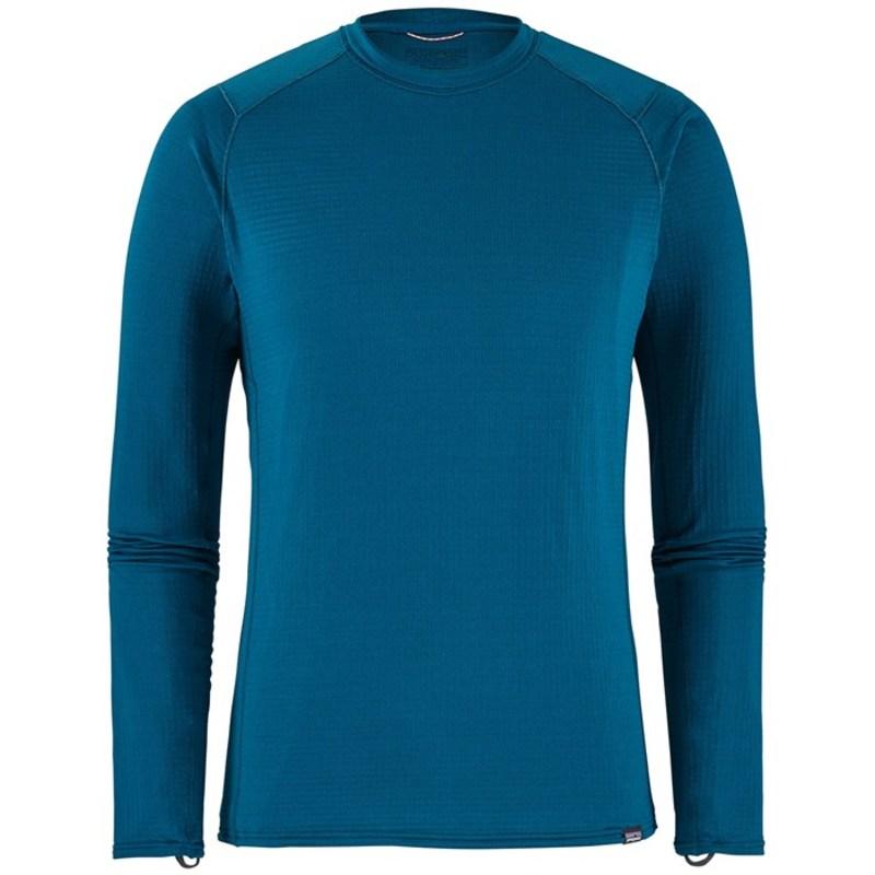 パタゴニア メンズ Tシャツ トップス Patagonia Capilene? Thermal Weight Crew Top Big Sur Blue