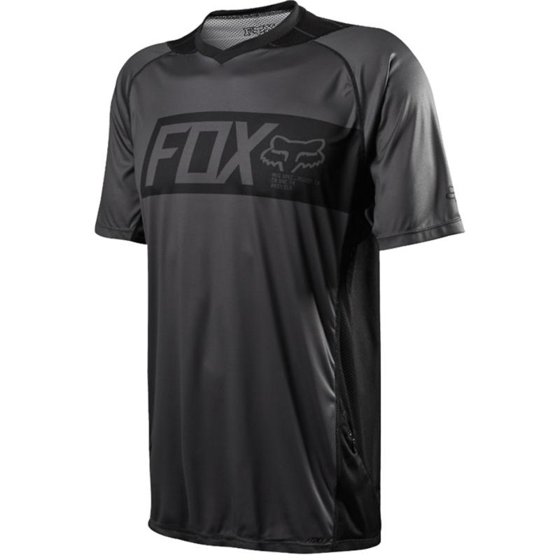 フォックス メンズ Tシャツ トップス Fox Attack SS Jersey Black