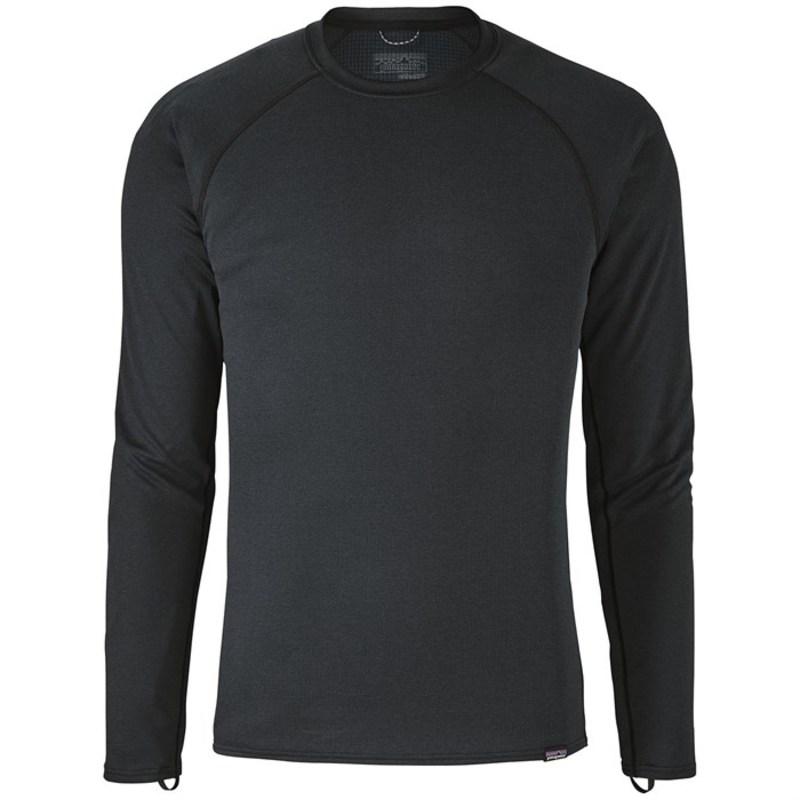 パタゴニア メンズ Tシャツ トップス Patagonia Capilene? Midweight Crew Black