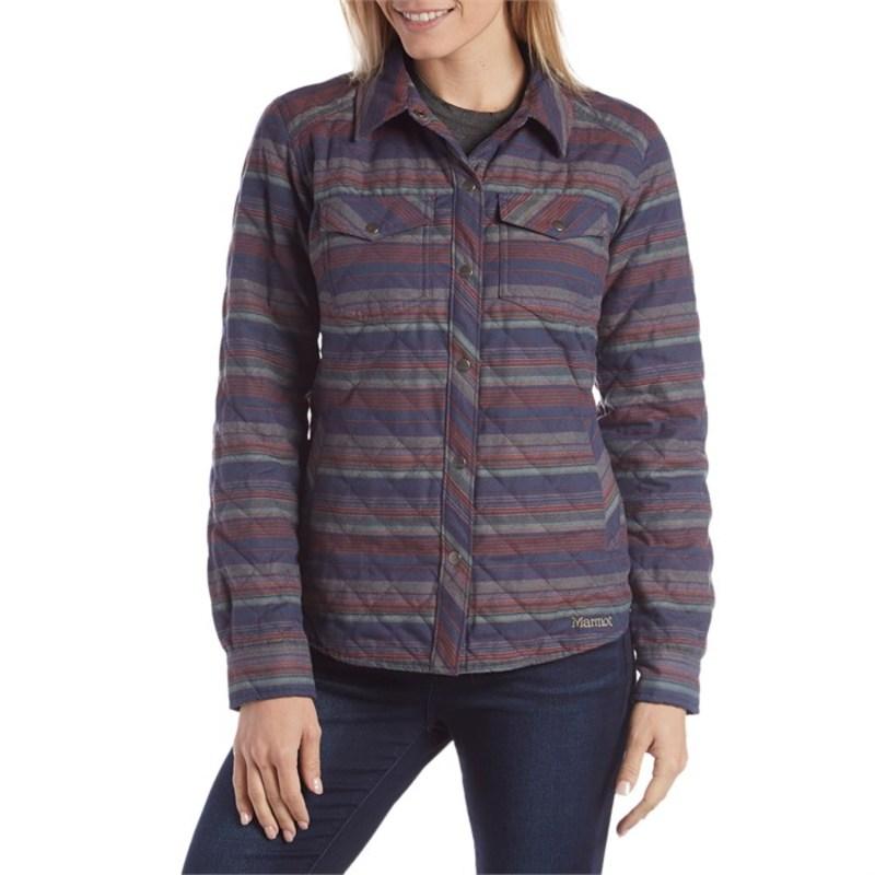 マーモット レディース シャツ トップス Marmot Riley Insulated Long-Sleeve Shirt - Women's Denim