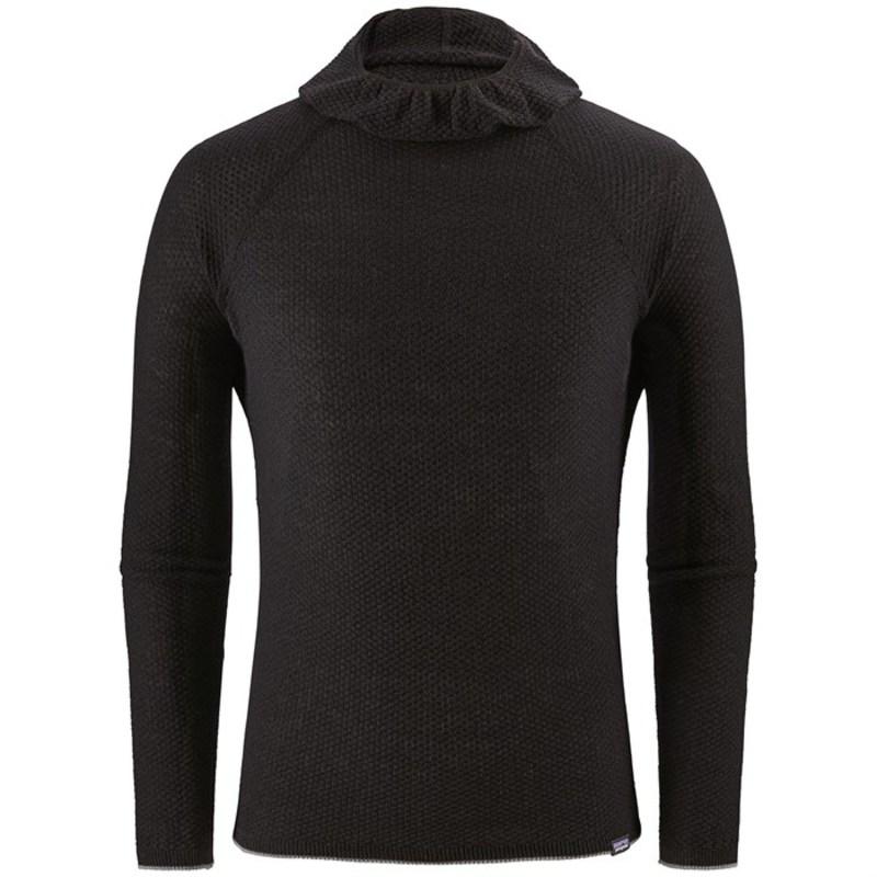 パタゴニア メンズ Tシャツ トップス Patagonia Cap Air Hoody Black
