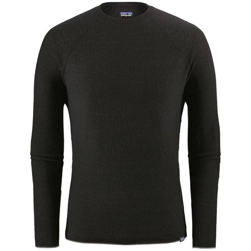 パタゴニア メンズ Tシャツ トップス Patagonia Capilene? Air Crew Black