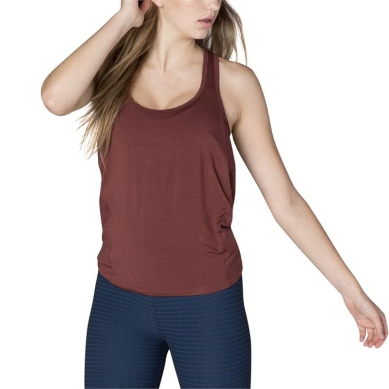 ビヨンドヨガ レディース タンクトップ トップス Beyond Yoga Draw The Line Tie Back Tank Top - Women's Red Rock