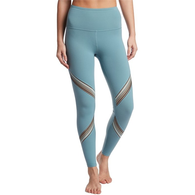 ビヨンドヨガ レディース レギンス ボトムス Beyond Yoga Get Your Filament High Waisted Long Leggings - Women's Blue Crush