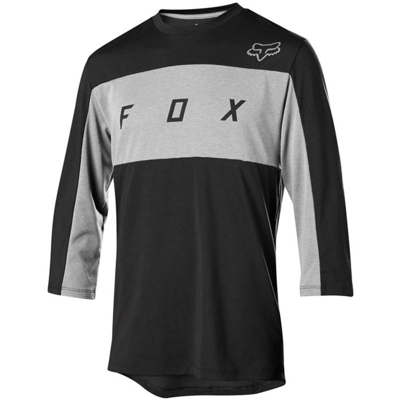 フォックス メンズ Tシャツ トップス Fox Ranger Drirelease? 3/4 Jersey Black