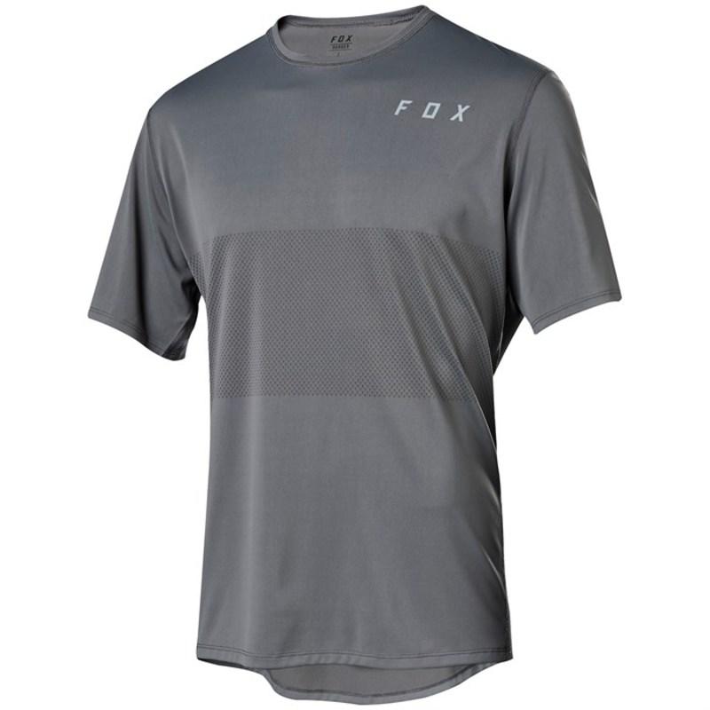 フォックス メンズ Tシャツ トップス Fox Ranger Drirelease? SS Jersey Grey Vintage