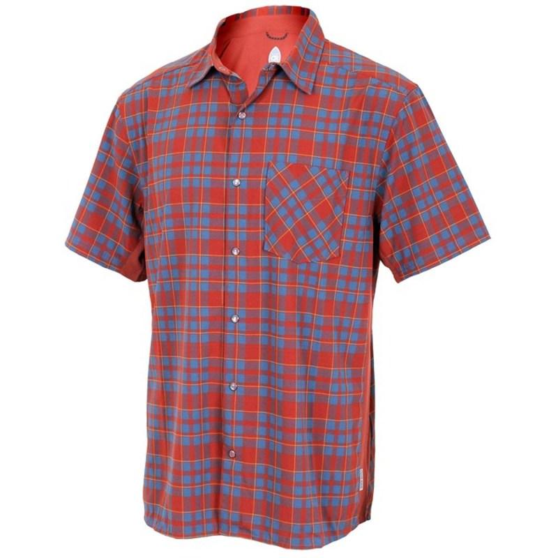 クラブライド メンズ Tシャツ トップス Club Ride Detour Short Sleeve Jersey Rust