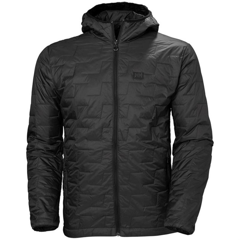 ヘリーハンセン メンズ ジャケット・ブルゾン アウター Helly Hansen LifaLoft? Hooded Insulator Jacket Black Matte