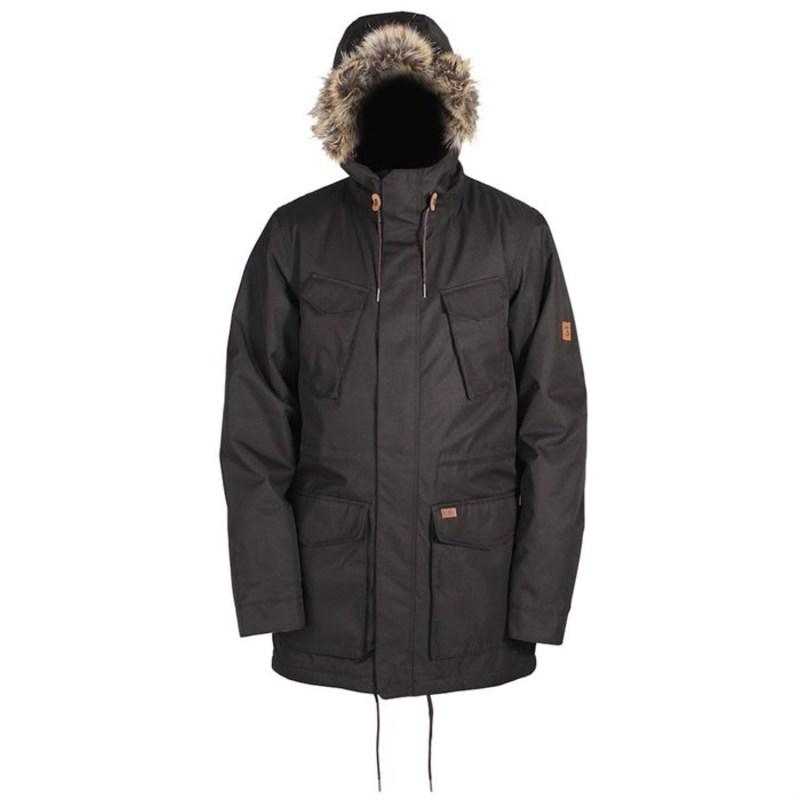 ライド メンズ ジャケット・ブルゾン アウター Ride Union Parka Jacket Black