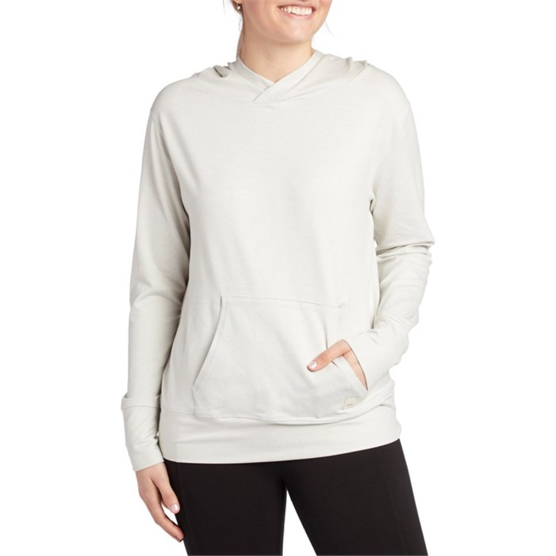 ビュオーリ レディース パーカー・スウェット アウター Vuori Halo Performance Pullover Hoodie - Women's Dove Grey Heather