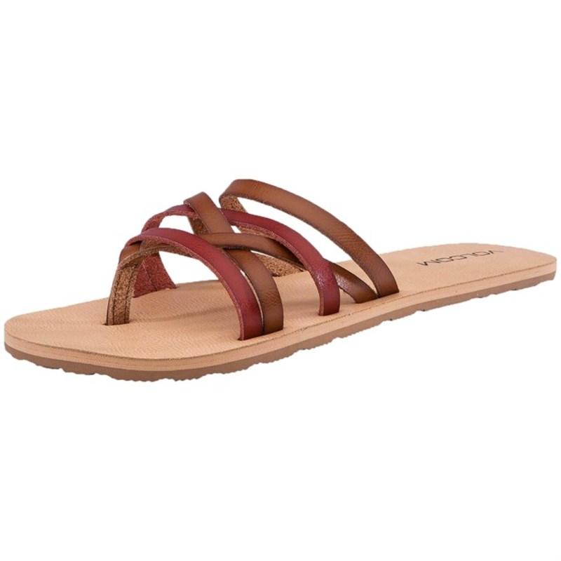 ボルコム レディース サンダル シューズ Volcom Legacy Sandals - Women's Tan