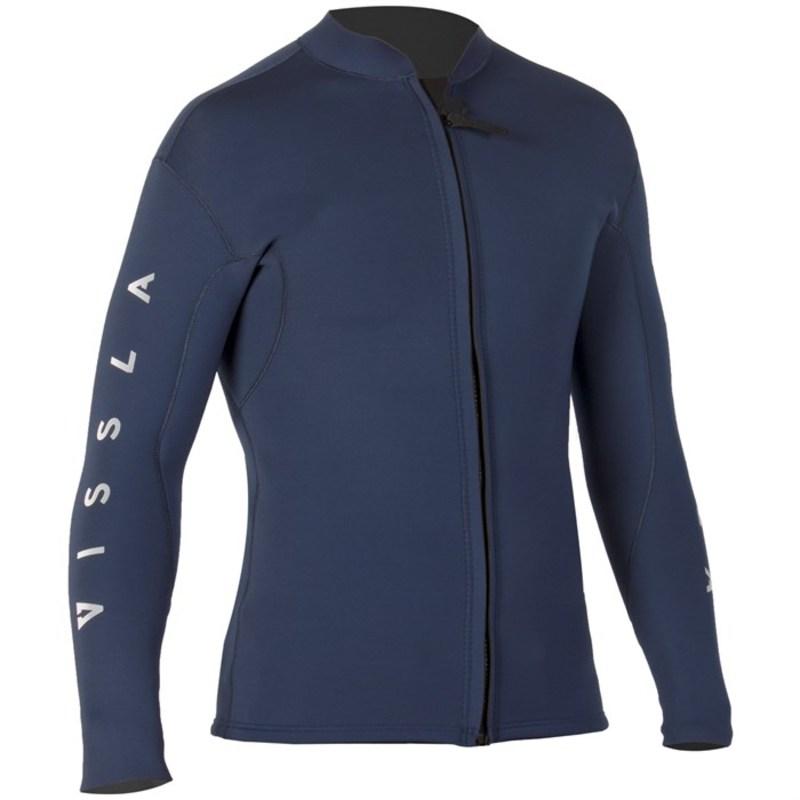 ヴィスラ メンズ 上下セット 水着 Vissla 2mm Tripper Front Zip Wetsuit Jacket Midnight