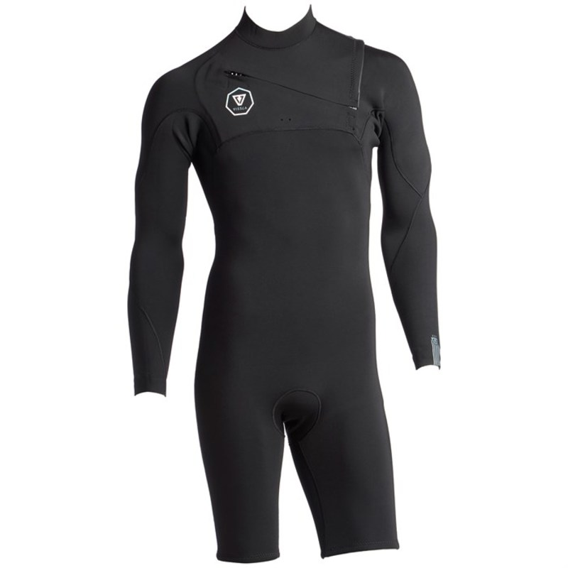 ヴィスラ メンズ 上下セット 水着 Vissla 7 Seas 2/2 Long Sleeve Springsuit Black With Jade