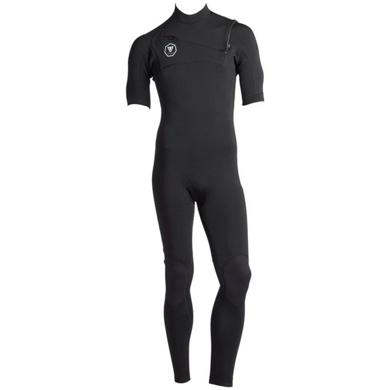 ヴィスラ メンズ 上下セット 水着 Vissla 7 Seas 2/2 Short Sleeve Wetsuit Black With Jade