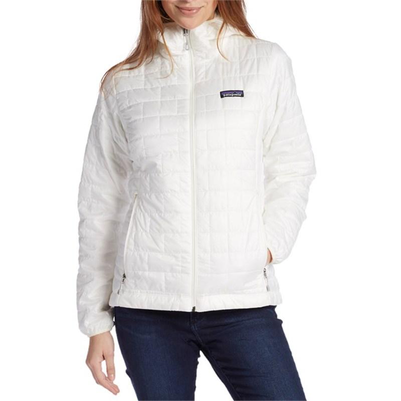 パタゴニア レディース ジャケット・ブルゾン アウター Patagonia Nano Puff Hoodie - Women's Birch White