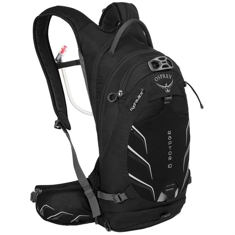 オスプレー メンズ バックパック・リュックサック バッグ Osprey Raptor 10 Hydration Pack Black