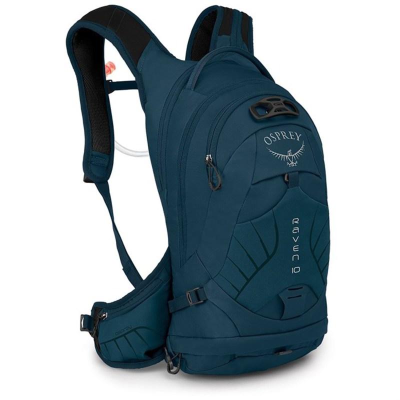 オスプレー レディース バックパック・リュックサック バッグ Osprey Raven 10 Hydration Pack - Women's Blue Emerald