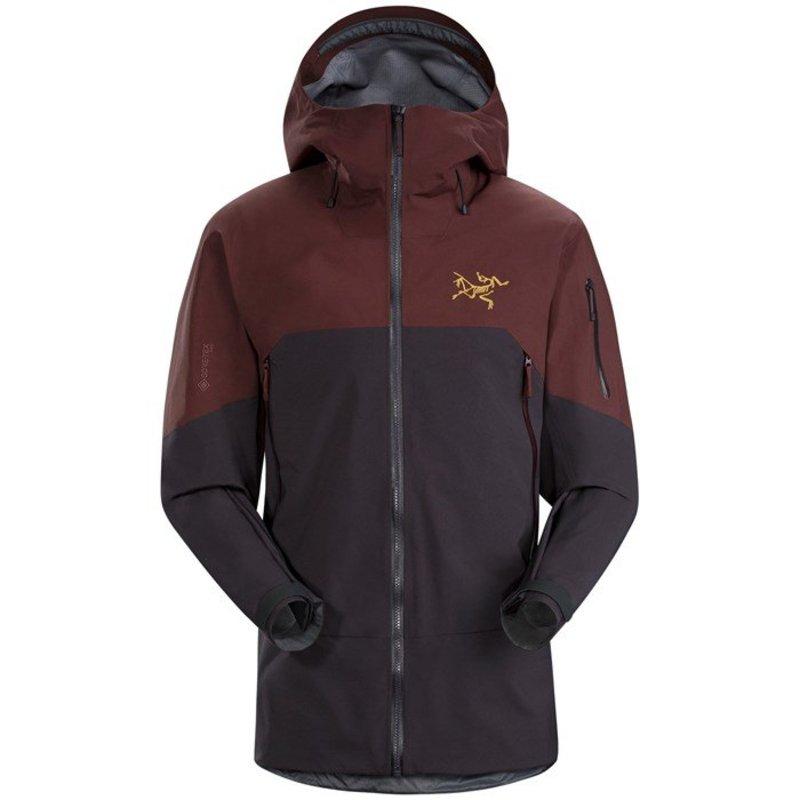 アークテリクス メンズ ジャケット・ブルゾン アウター Arc'teryx Rush Jacket Black Baccara
