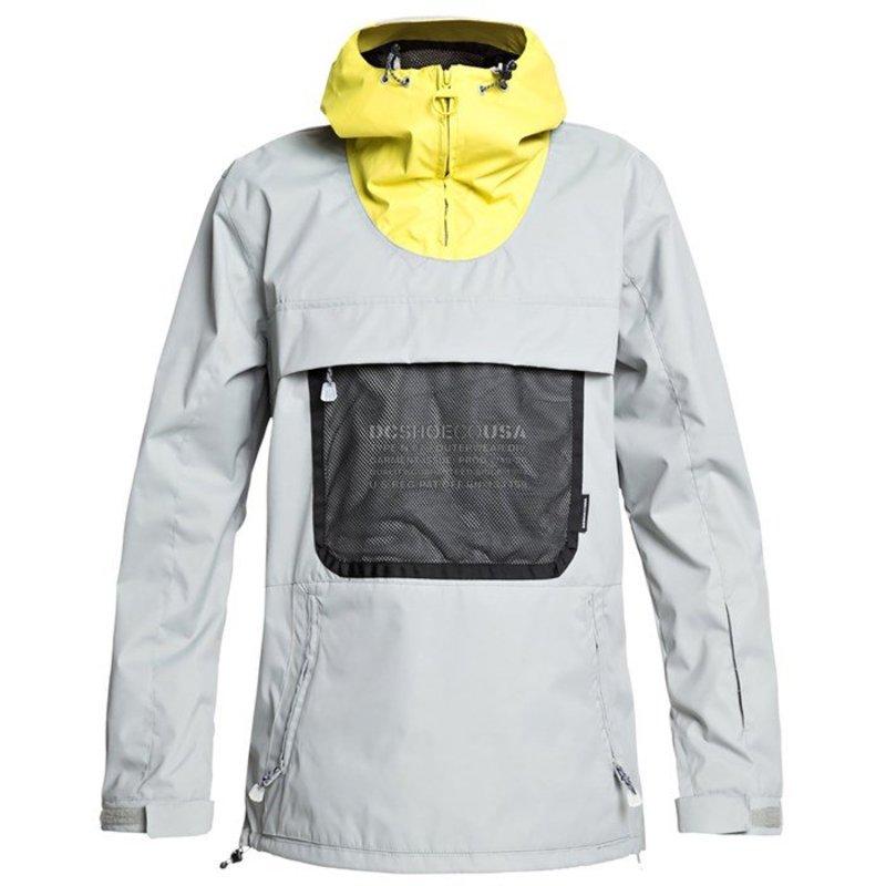 ディーシー メンズ ジャケット・ブルゾン アウター DC ASAP Anorak Jacket Neutral Gray